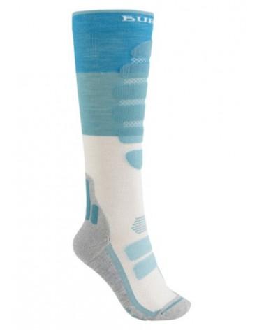 BURTON WMS Performance Plus Lightweight Snowboard Sock TAHOE BLOCK