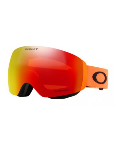 OAKLEY  FLIGHT DECK XM Prizm Snow Torch Iridium Orange Strap