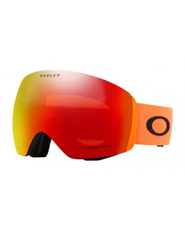 OAKLEY  Flight Deck Prizm Snow Torch Iridium Orange Strap