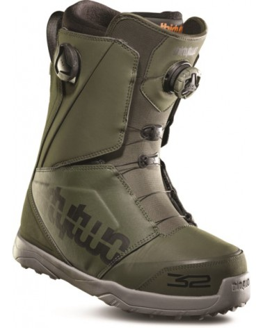 THIRTYTWO LASHED DOUBLE BOA '18 OLIVE