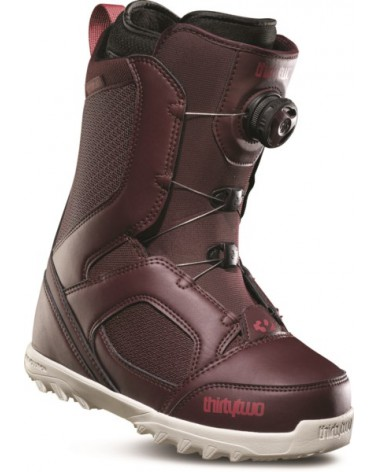 THIRTYTWO STW BOA W'S '18 BURGUNDY