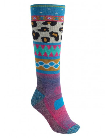 BURTON PERFORMANCE MIDWEIGHT SOCK WILDSTYLE