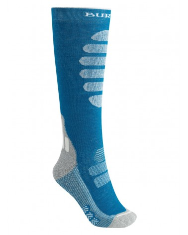BURTON PERFORMANCE PLUS MIDWEIGHT SOCK BLUE CURACAO
