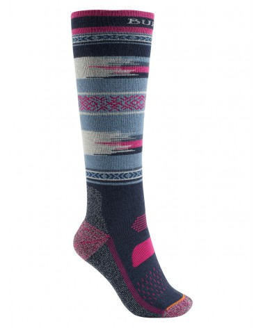 BURTON PERFORMANCE MIDWEIGHT SOCK MOOD INDIGO