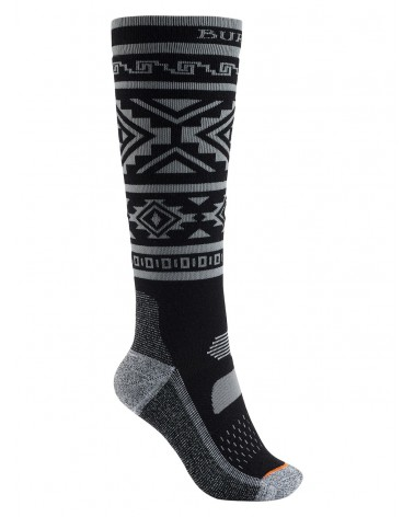 BURTON PERFORMANCE MIDWEIGHT SOCK TRUE BLACK