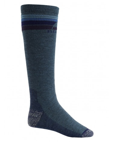 BURTON EMBLEM MIDWEIGHT SOCK INDIGO HEATHER