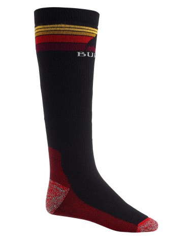 BURTON EMBLEM MIDWEIGHT SOCK TRUE BLACK