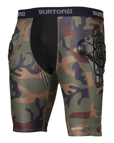 BURTON TOTAL IMPACT SHORT HIGHLAND CAMO 2020