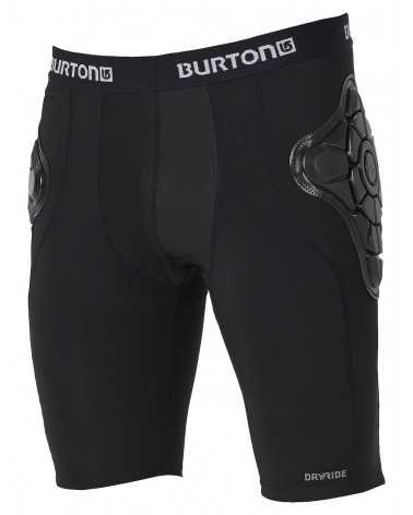 BURTON TOTAL IMPACT SHORT TRUE BLACK 2020