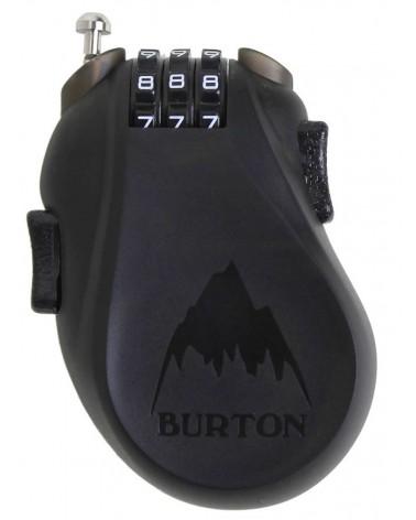 BURTON CABLE LOCK TRANSLUCENT BLACK 2020