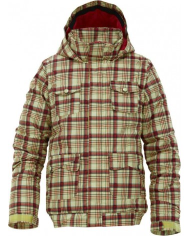 BURTON GIRLS TWIST BMR FUNSHINE CANDY PLAID
