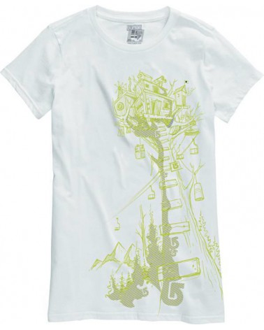 BURTON BRT TREEHOUSE SS BRIGHT WHITE