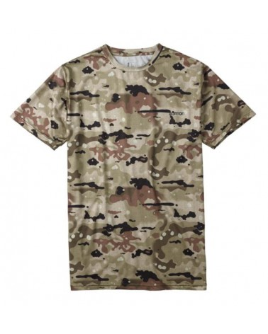BURTON LTWT TECH TEE BIRCH CAMO