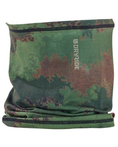 BURTON 1LYR MD NECK WARMER OIL CAMO
