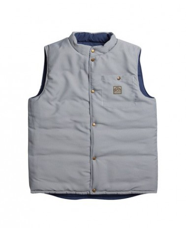 AIRBLASTER DOUBLE PUFF VEST NAVY SPRUCE TRAIN